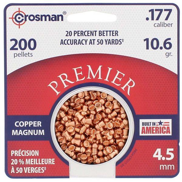 Crosman Plombs Copper Magnum 4.5 mm 200 pcs