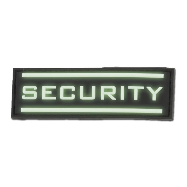 Patch 3D-Patch Security luminescent