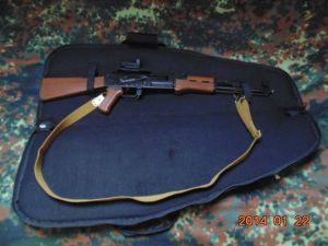 Rifle case 100 Kalashnikov