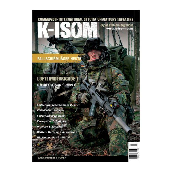 Kommando Magazin K-ISOM Spezial I/2017 Fallschirmjäger heute
