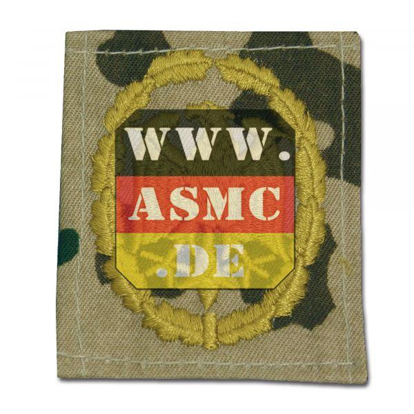 Insigne BW tissu badge de compétence fleckdesert/or