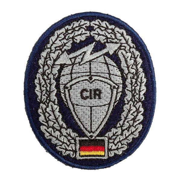 Insigne Béret BW Cyber- und Informationsraum CIR tissu