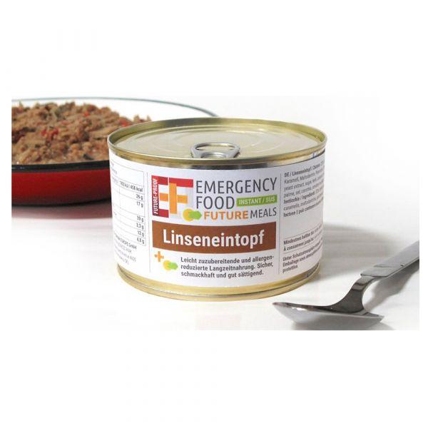 EF Emergency Food Ragoût de lentilles conserve