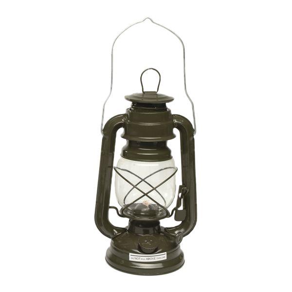 Lampe-tempête kaki 23 cm