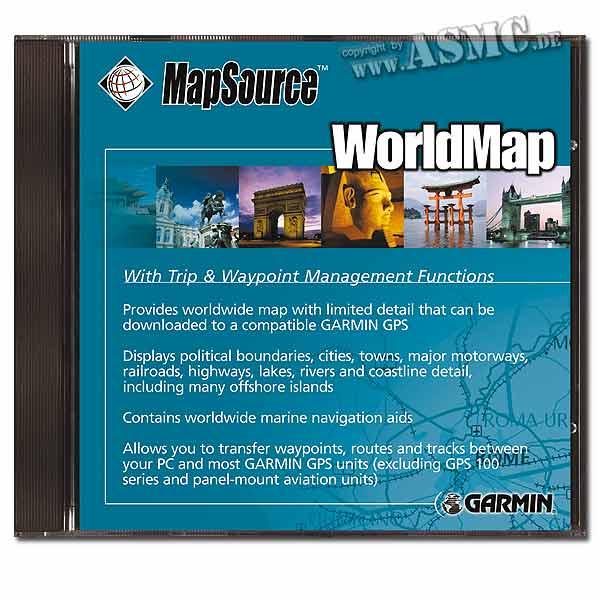 MapSource® WorldMap