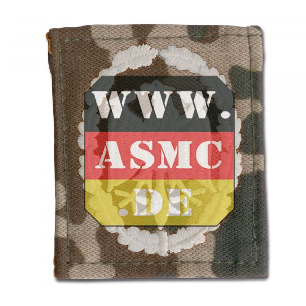 Insigne BW tissu badge de compétence fleckdesert/argent