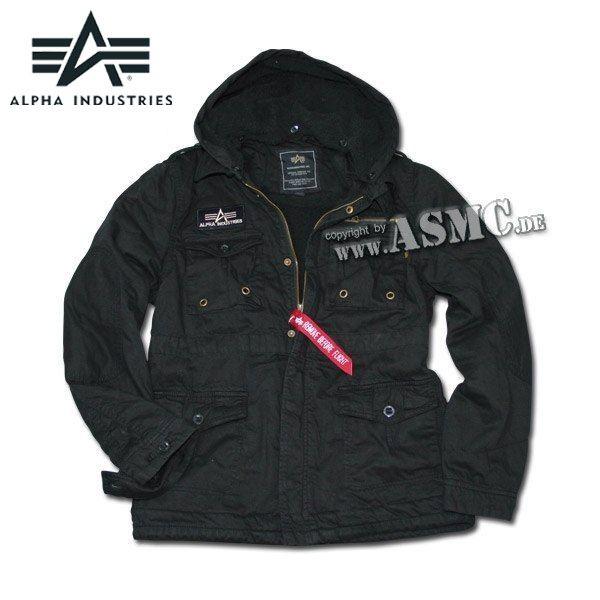 Blouson Alpha Industries Rod noir