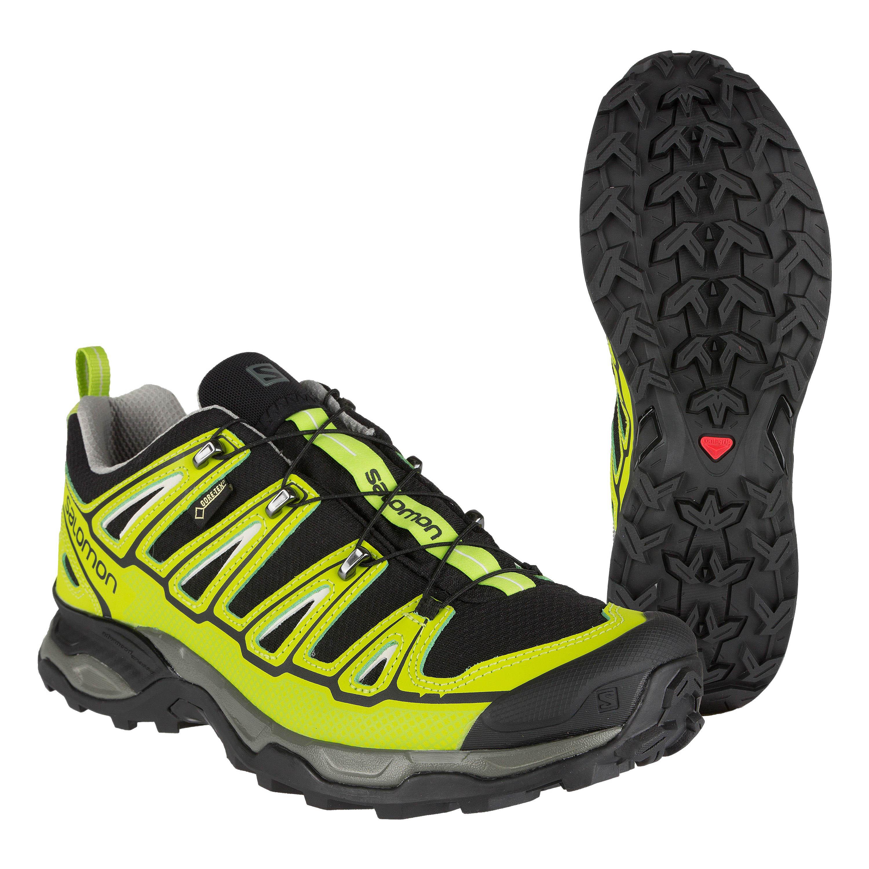 Salomon Chaussures X Ultra 2 GTX vertes fluo