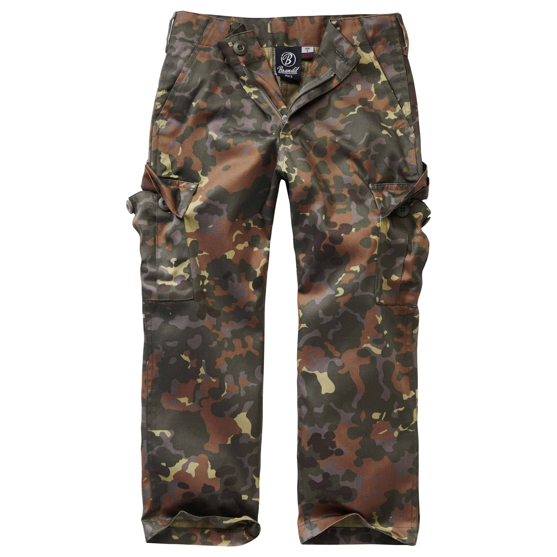 Brandit Pantalon US Ranger Trouser kids flecktarn