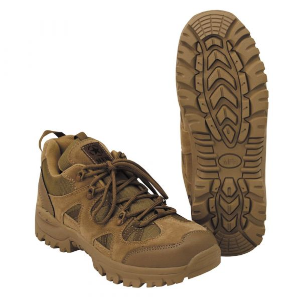 MFH Chaussures Tactical Low coyote tan