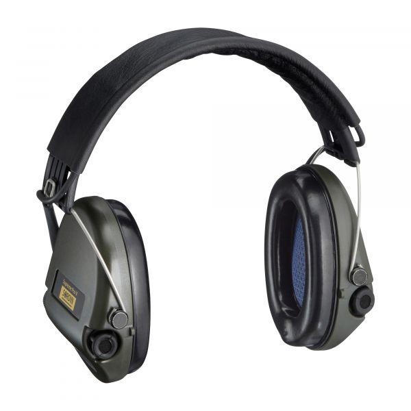 Sordin Casque anti-bruit Supreme Pro-X cuir olive