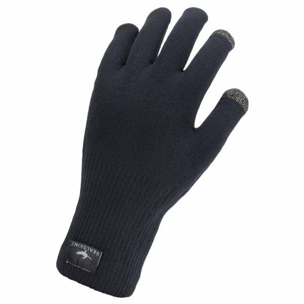 Sealskinz Gants Waterproof All Weather Ultra Grip noir