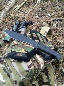 Messer im Einsatz