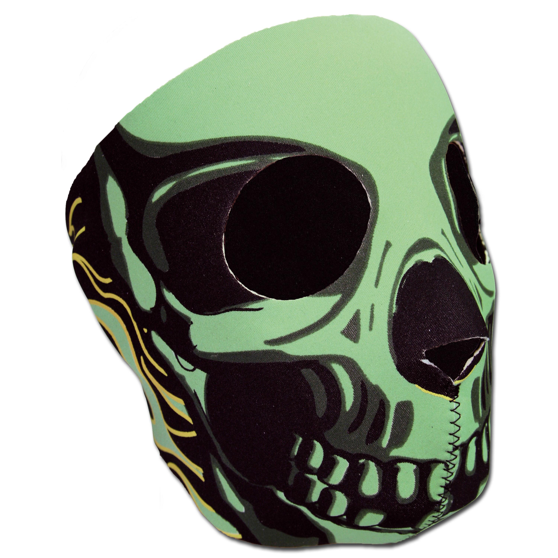 Masque Néoprène Skull vert