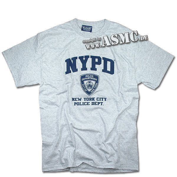 T-shirt NYPD gris