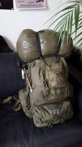 3 Day Pack - Gepackt