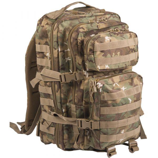 Mil-Tec Sac à dos US Assault Pack II arid-woodland