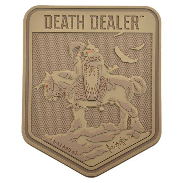 Hazard 4 Patch Caoutchouc Death Dealer coyote