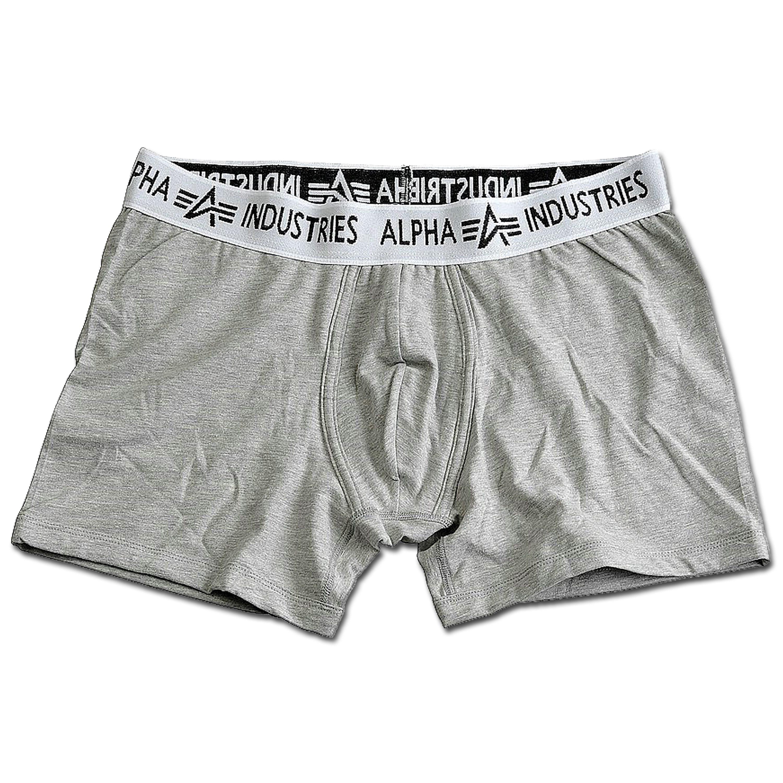 Boxer Alpha Industries gris