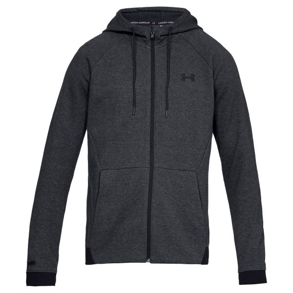 Under Armour Sweatshirt Unstoppable 2x Knit FZ noir