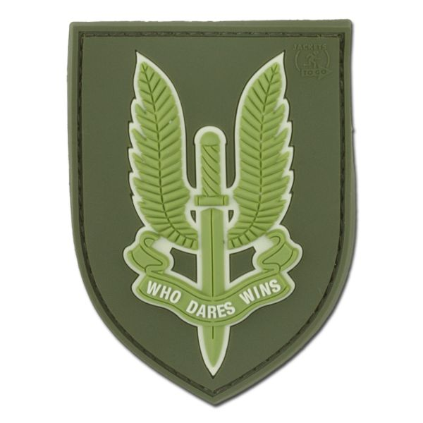 Patch 3D who dares wins SAS forest