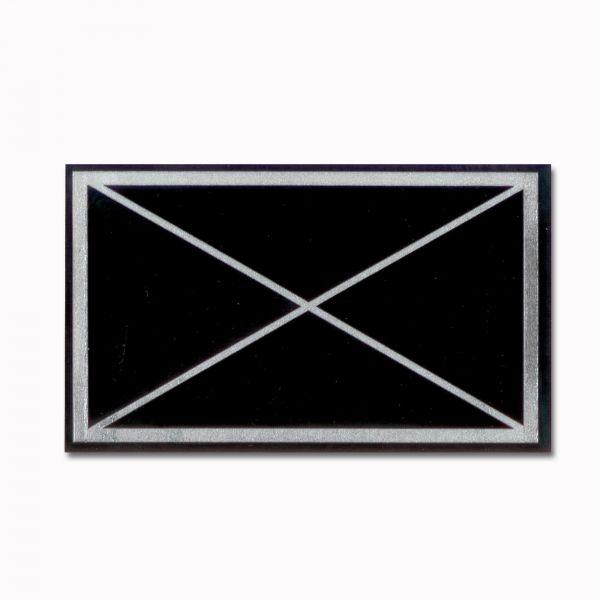 Autocollant militärisches Symbol Jägertruppe
