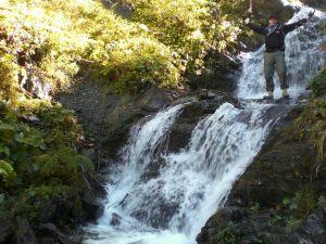 Schattberg via Wasserfall