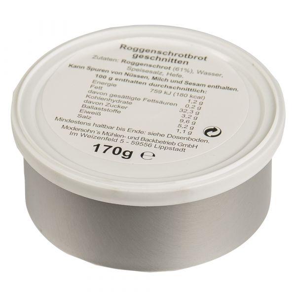 Tranches de pain BW en conserve 170 g