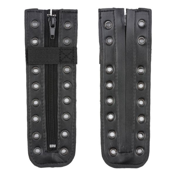 Boot Zippers cuir synthétique 9 œillets
