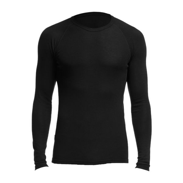 Icebreaker T-Shirt Manches Longues Everyday Merino 175 noir
