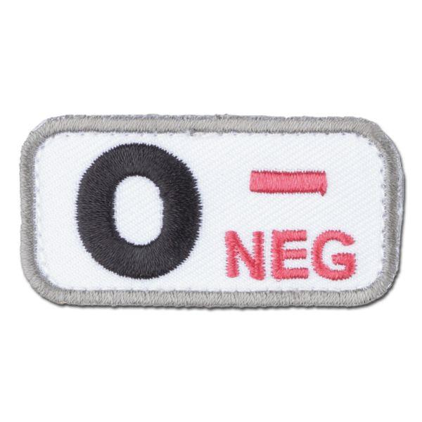 MilSpecMonkey Patch Groupe Sanguin O Neg medical