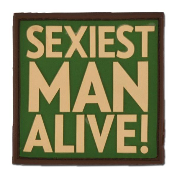 Patch 3 D SEXIEST MAN ALIVE multicam