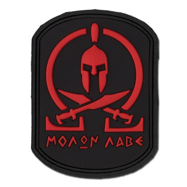 Patch 3D Molon Labe Spartan blackmedic