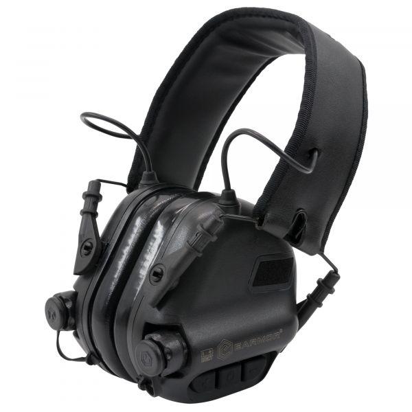 Earmor Casque anti-bruit électronique M31 Mark3 NRR 22 noir