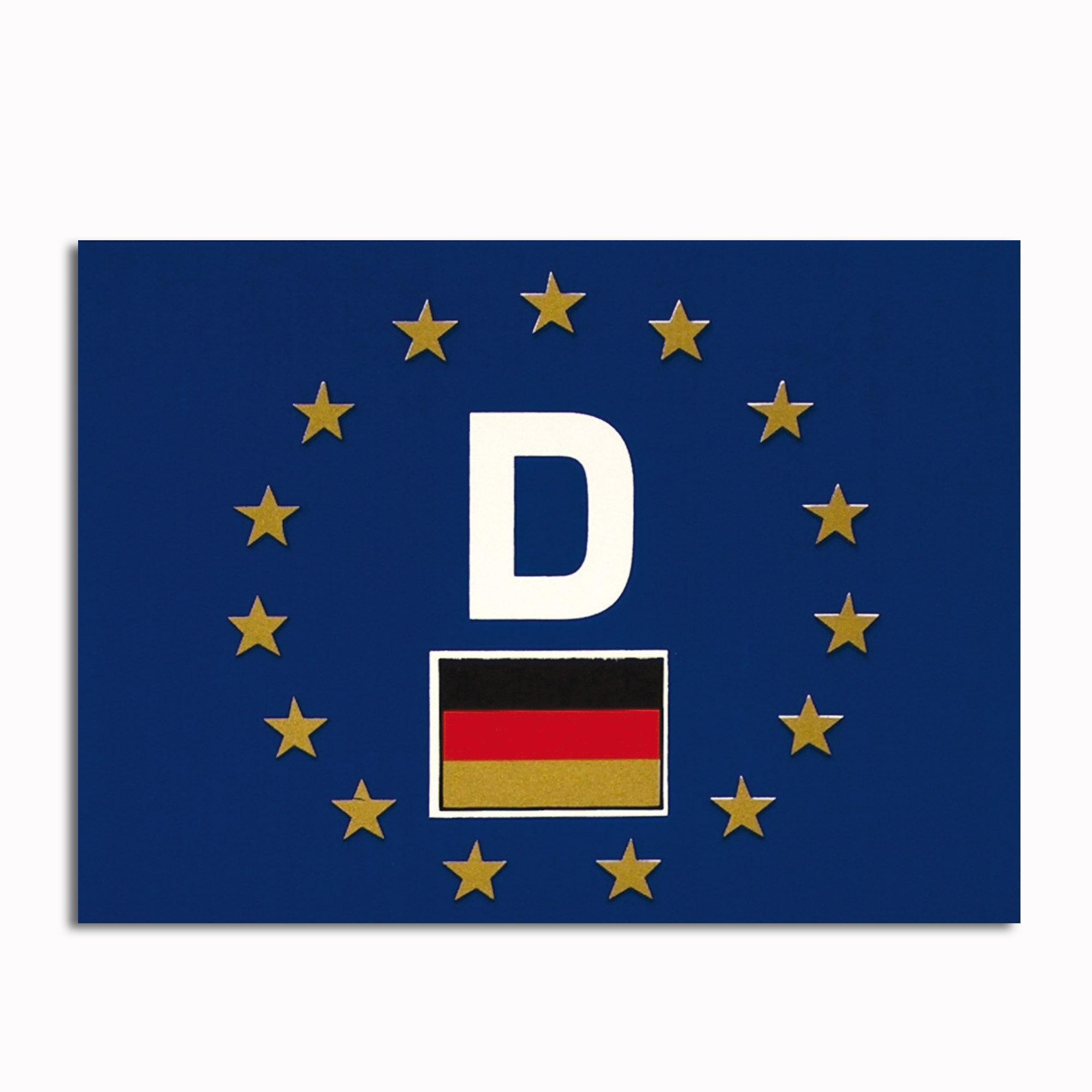Autocollant Voiture D-Europe