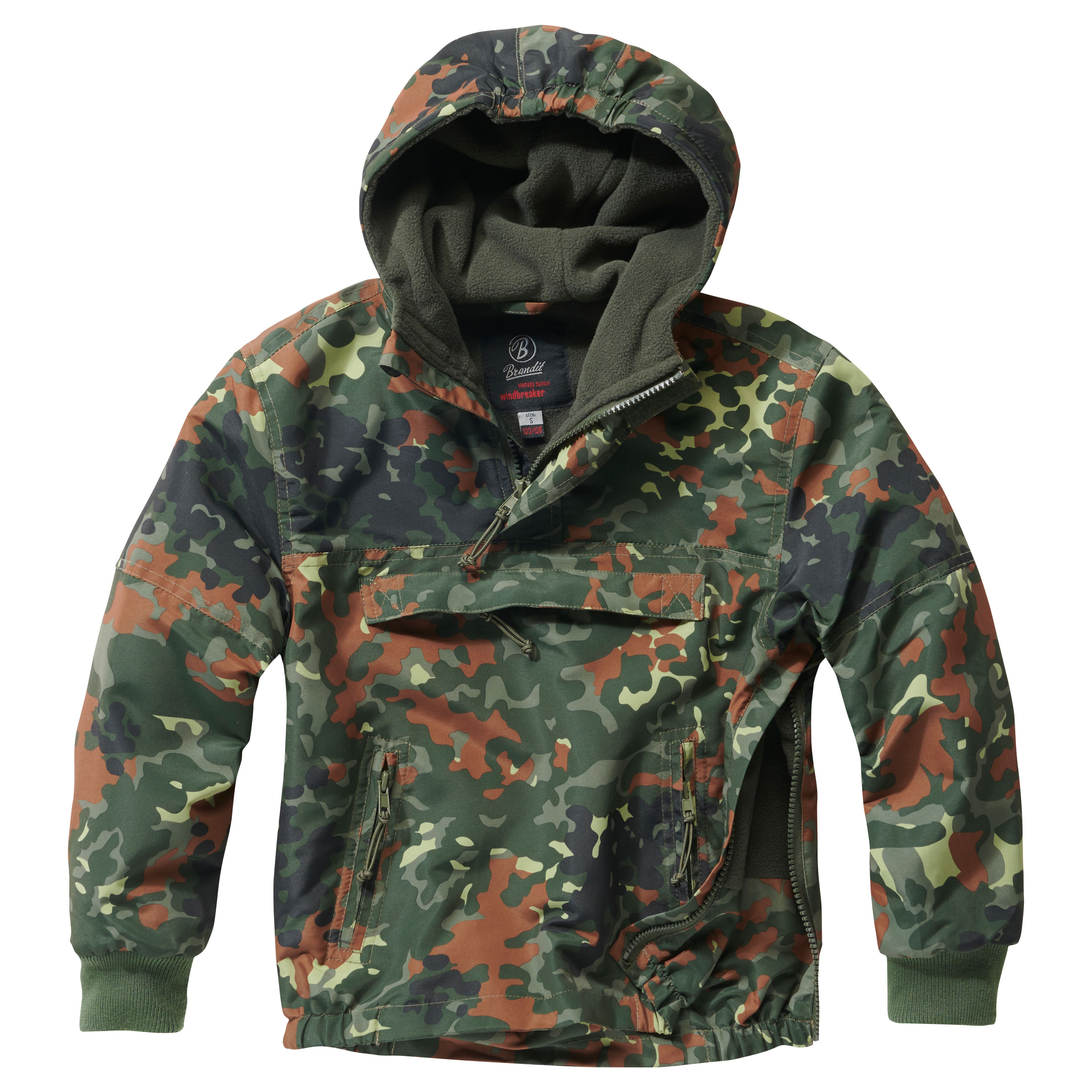 Veste Brandit Windbreaker Kids flecktarn