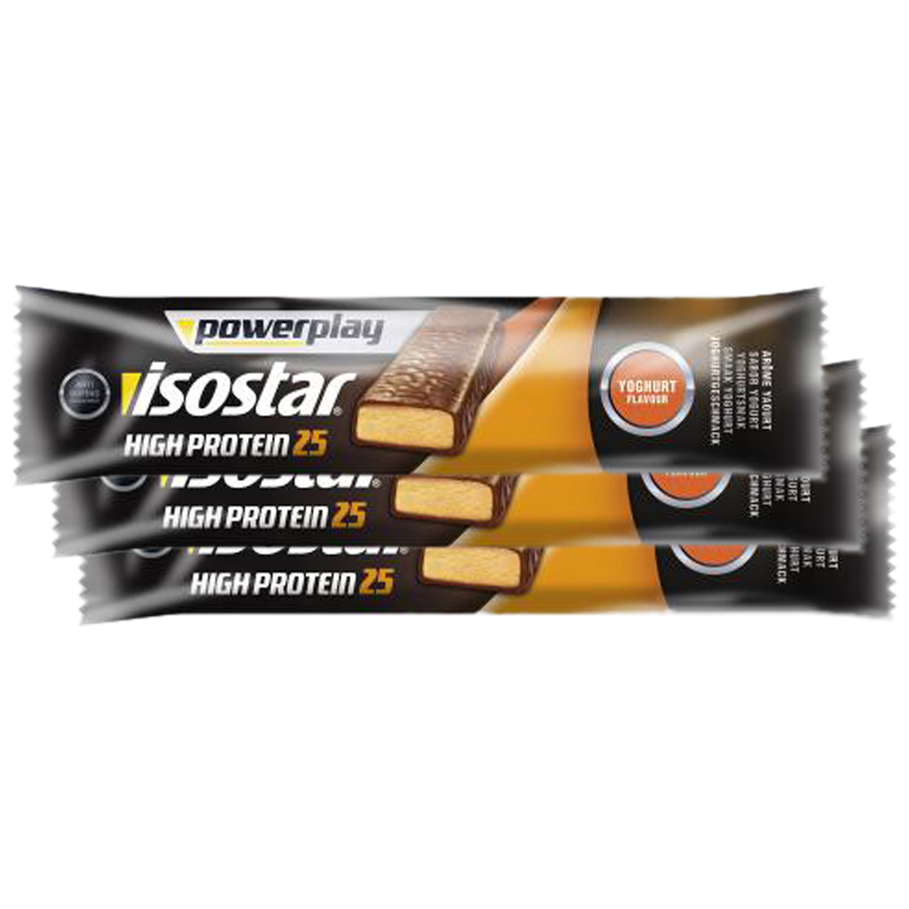 High Protein 25 Powerplay Isostar yaourt&fruits 35 g – 3 barres