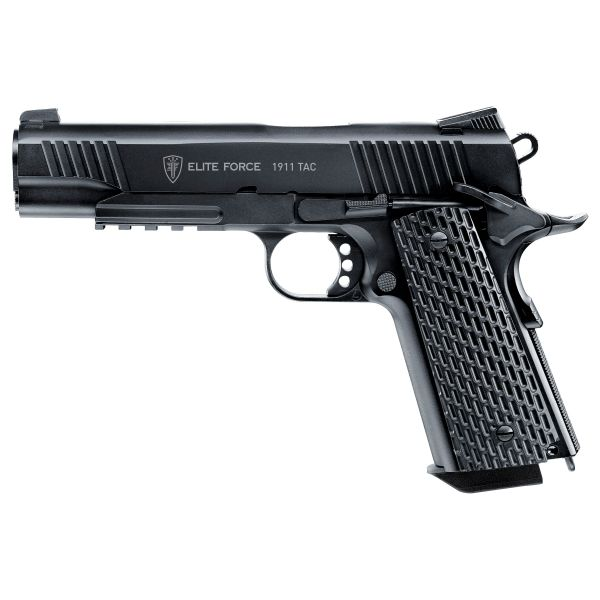 Elite Force Pistolet Airsoft 1911 Tac 1.3 J CO2 blowback noir