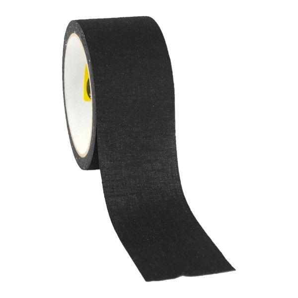 Ruban adhésif textile camouflage noir 10 m