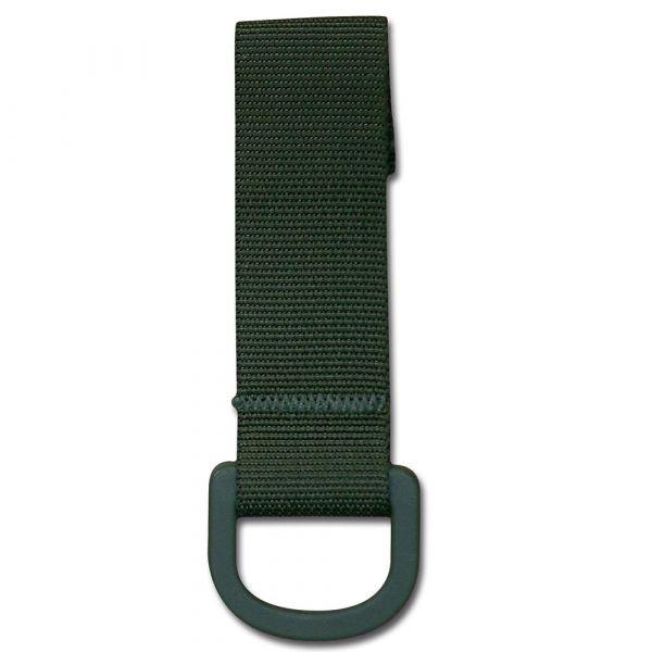 Passant de ceinture olive avec anneau D