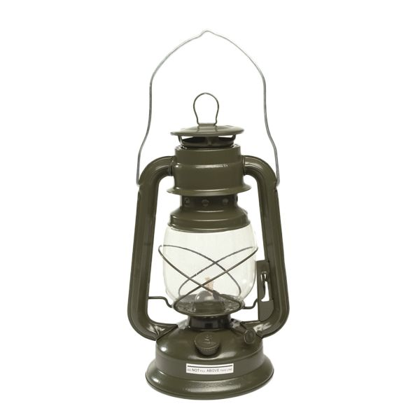 Lampe-tempête kaki 28 cm