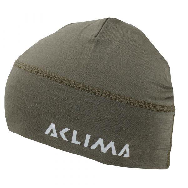 Aclima Bonnet Lightwool Beanie ranger green