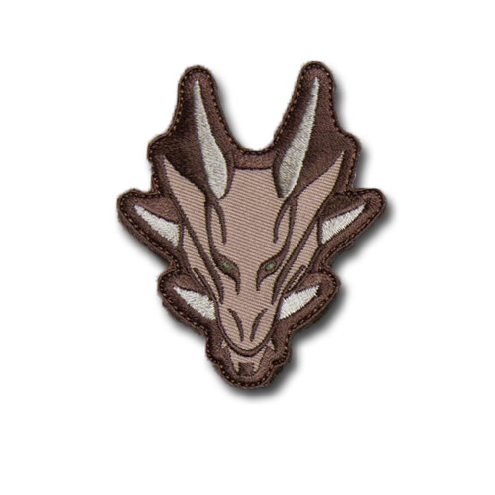 MilSpecMonkey Patch Tête de Dragon arid