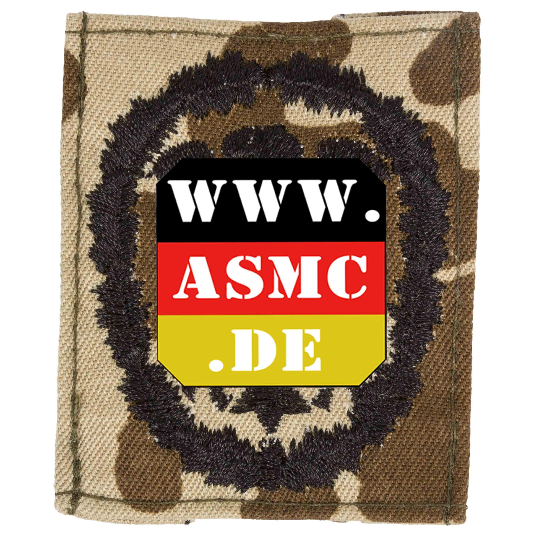 Insigne BW tissu badge de compétence fleckdesert/noir