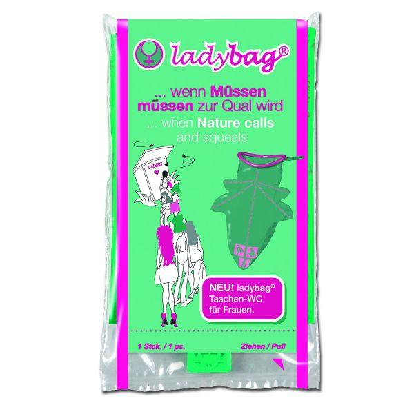 Pochette WC ladybag
