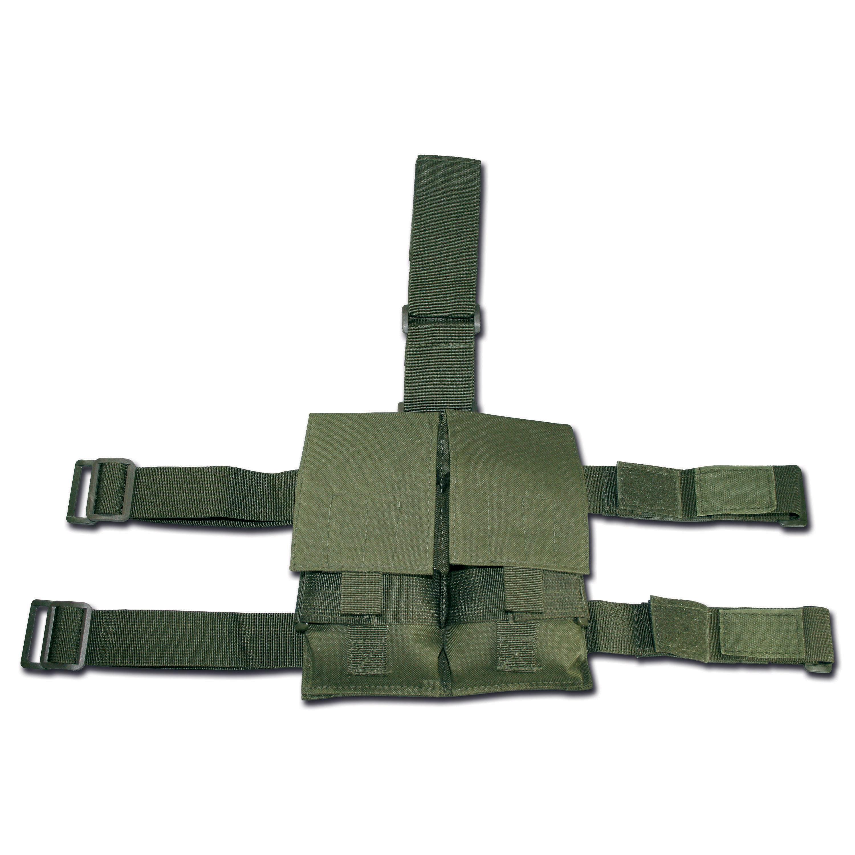 - O54WHL6M5156K439LNWBR3 Kaki Vert Qeedio Porte-cl/és Mousqueton Tactique en Nylon Multifonction pour Ceinture Kaki