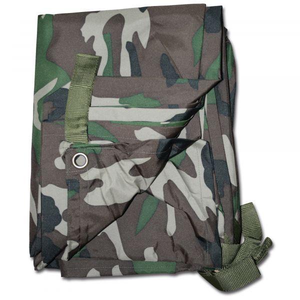 Bâche Commando woodland 300 x 220 cm
