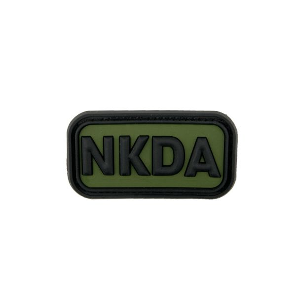 Patch 3D NKDA - No Known Drug Allergies forest