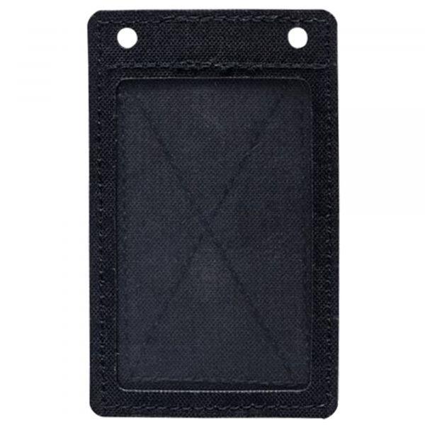 MD-Textil Porte-carte velcro noir