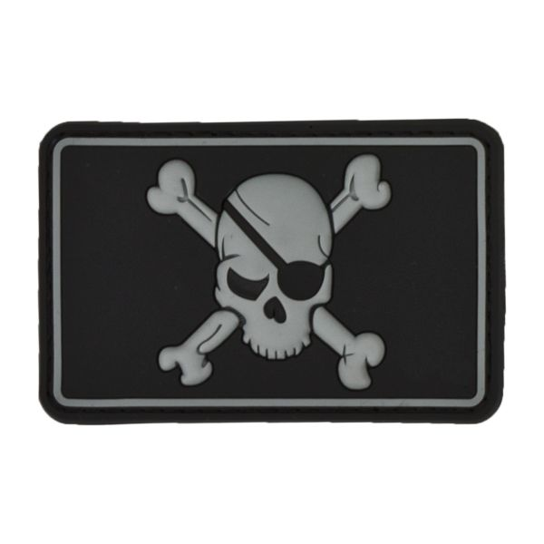 Patch 3D Pirate Skull swat